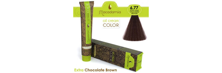 Oil cream color Extra Chocolate Brown