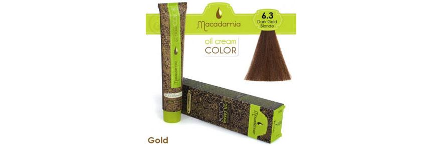 Oil cream color Gold