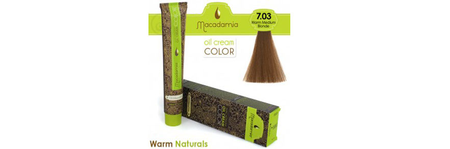 Oil cream color Warm Naturals