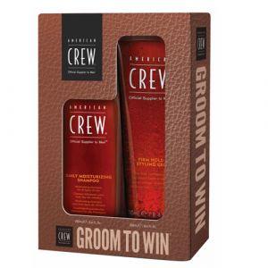 American Crew Groom To Win Set