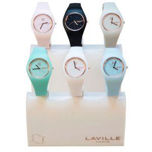 Laville Paris - Orologio da Polso - BIANCO