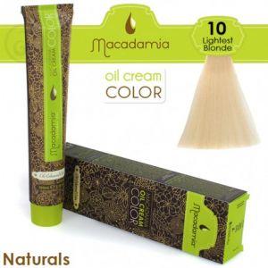 Macadamia Oil Cream Color Naturals - 10 Biondo Chiarissimo 100ml