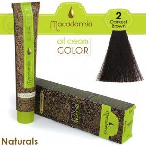 Macadamia Oil Cream Color Naturals - 2 Marrone Scurissimo 100ml