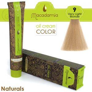 Macadamia Oil Cream Color Naturals - 9 Biondo Molto Chiaro 100ml