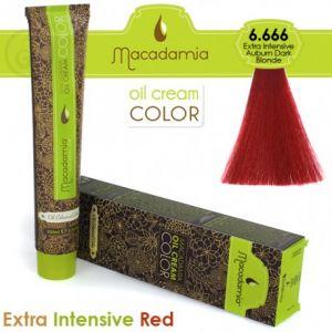 Macadamia Oil Cream Color Extra Intensive Red - 5.666 Biondo Scuro Ramato Extra Intenso 100ml
