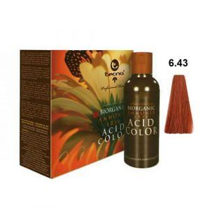 Tecna NCC 6.43 Biondo Scuro Rame Dorato Biorganic Acid Color 3x130ml