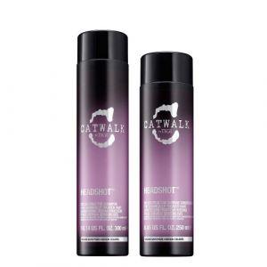 Tigi Catwalk Headshot Reconstructive Shampoo 300ml + Conditioner 250ml